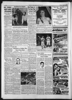 Argus Leader From Sioux Falls South Dakota On August 26 1951 Page