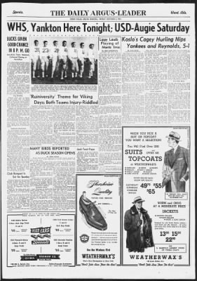 Argus Leader From Sioux Falls South Dakota On October 5 1951 Page 9