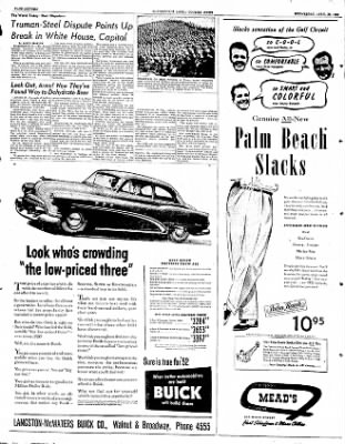 The Courier News from Blytheville, Arkansas on April 23, 1952 · Page 9