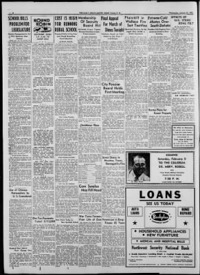 Argus Leader From Sioux Falls South Dakota On January 31 1951 Page 2