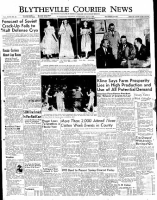 The Courier News from Blytheville, Arkansas on May 3, 1950 · Page 1