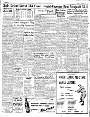 The Courier News from Blytheville, Arkansas on October 14, 1949 · Page 8