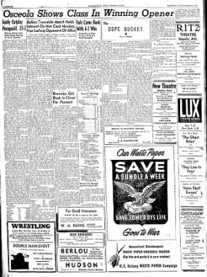The Courier News from Blytheville, Arkansas on September 16, 1944 · Page 6