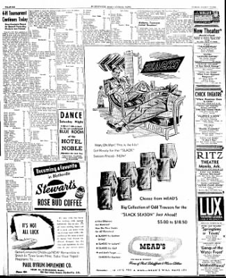 The Courier News from Blytheville, Arkansas on March 15, 1946 · Page 6