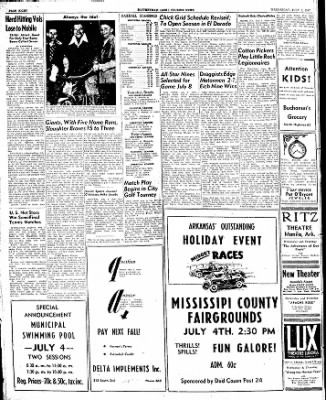 The Courier News from Blytheville, Arkansas on July 2, 1947 · Page 8