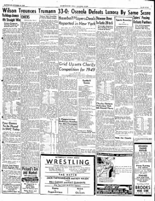 The Courier News from Blytheville, Arkansas on October 15, 1949 · Page 5