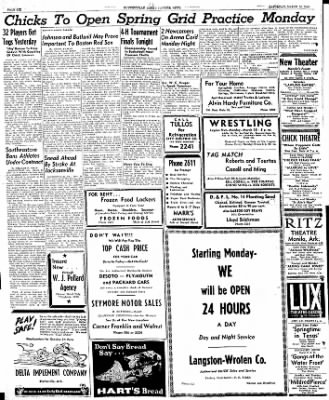 The Courier News from Blytheville, Arkansas on March 16, 1946 · Page 6
