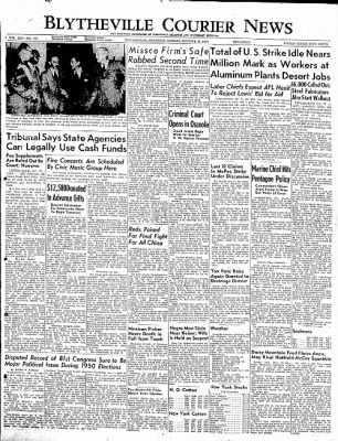 The Courier News from Blytheville, Arkansas on October 17, 1949 · Page 1