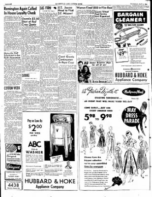 The Courier News from Blytheville, Arkansas on May 4, 1950 · Page 6