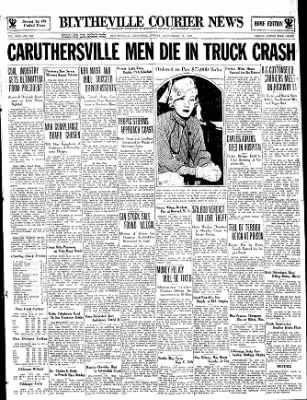 The Courier News from Blytheville, Arkansas on September 15, 1933 · Page 1