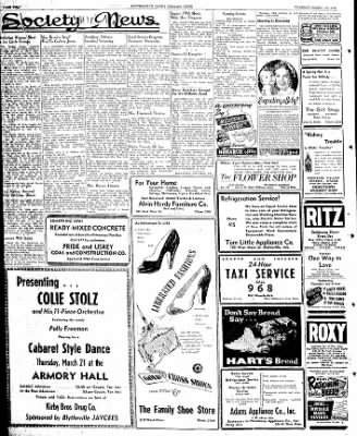 The Courier News from Blytheville, Arkansas on March 19, 1946 · Page 2