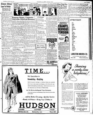 The Courier News from Blytheville, Arkansas on March 19, 1946 · Page 3