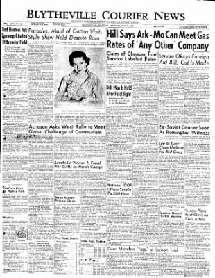 The Courier News from Blytheville, Arkansas on May 6, 1950 · Page 1