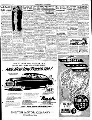The Courier News from Blytheville, Arkansas on October 18, 1949 · Page 3