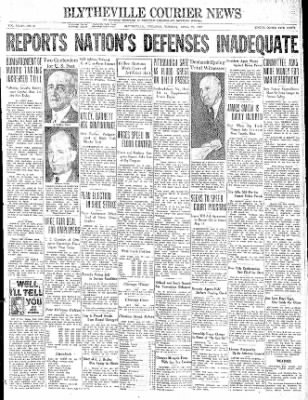 The Courier News from Blytheville, Arkansas on April 27, 1937 · Page 1