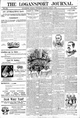 Logansport Pharos-Tribune from Logansport, Indiana on June 17, 1896 · Page 1
