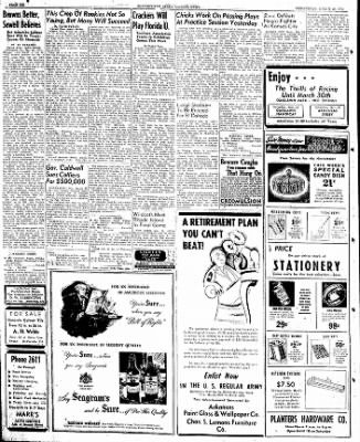 The Courier News from Blytheville, Arkansas on March 20, 1946 · Page 6