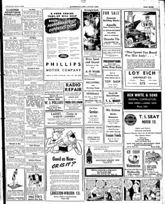 The Courier News from Blytheville, Arkansas on July 5, 1947 · Page 7