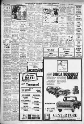 Daily Press from Newport News, Virginia on February 3, 1973