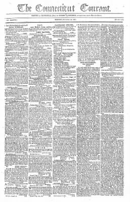 Hartford Courant from Hartford, Connecticut on September 20, 1802 · Page 1