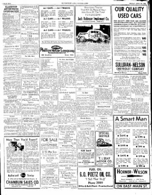 The Courier News from Blytheville, Arkansas on April 25, 1952 · Page 10