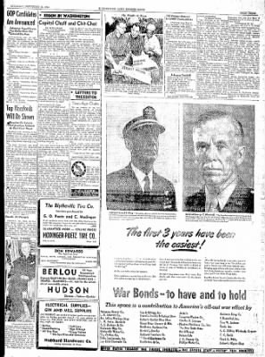The Courier News from Blytheville, Arkansas on September 23, 1944 · Page 3