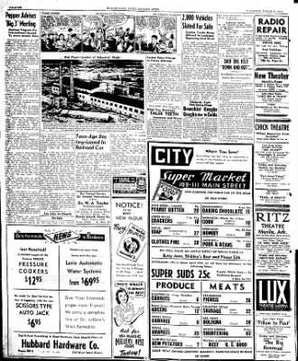The Courier News from Blytheville, Arkansas on March 21, 1946 · Page 6