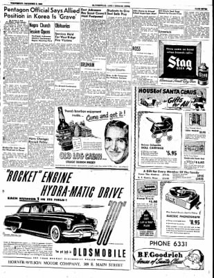 The Courier News from Blytheville, Arkansas on December 6, 1950 · Page 7