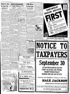The Courier News from Blytheville, Arkansas on September 25, 1944 · Page 3