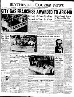 The Courier News from Blytheville, Arkansas on May 9, 1950 · Page 1