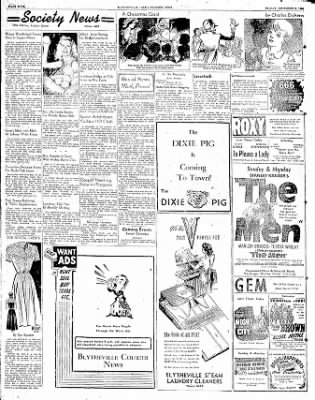 The Courier News from Blytheville, Arkansas on December 8, 1950 · Page 4
