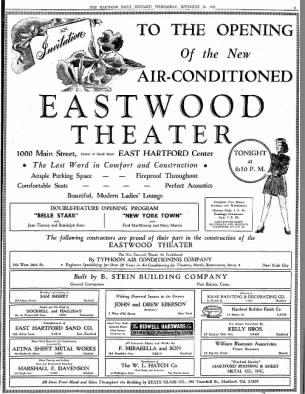Eastwood theatre opening