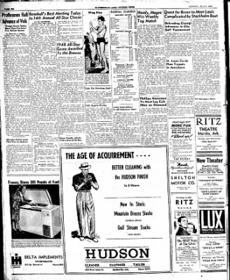 The Courier News from Blytheville, Arkansas on July 8, 1947 · Page 6