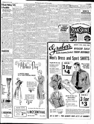 The Courier News from Blytheville, Arkansas on May 9, 1950 · Page 7