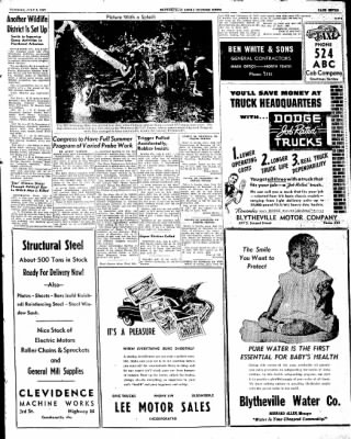 The Courier News from Blytheville, Arkansas on July 8, 1947 · Page 7