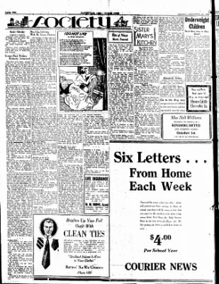 The Courier News from Blytheville, Arkansas on September 25, 1933 · Page 2