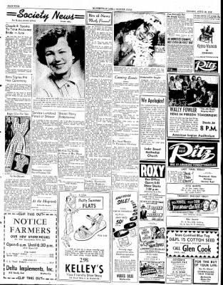 The Courier News from Blytheville, Arkansas on April 28, 1952 · Page 3