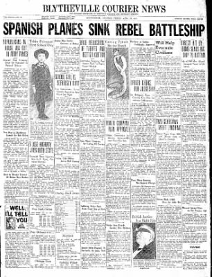 The Courier News from Blytheville, Arkansas on April 30, 1937 · Page 1
