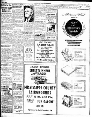 The Courier News from Blytheville, Arkansas on July 9, 1947 · Page 2