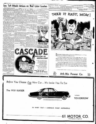 The Courier News from Blytheville, Arkansas on May 9, 1950 · Page 16