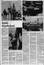 Opening of Disneyland, 1955