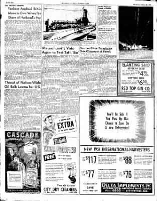 The Courier News from Blytheville, Arkansas on April 28, 1952 · Page 10