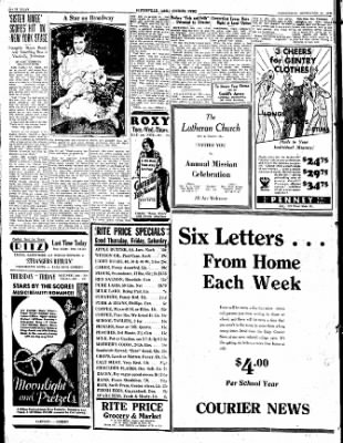 The Courier News from Blytheville, Arkansas on September 27, 1933 · Page 8