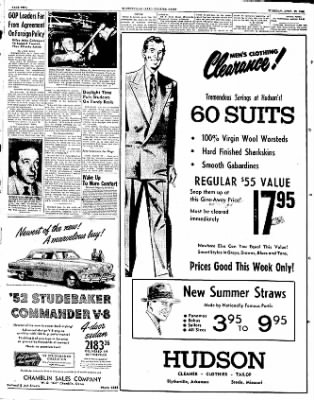 The Courier News from Blytheville, Arkansas on April 29, 1952 · Page 1