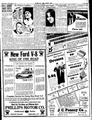 The Courier News from Blytheville, Arkansas on September 27, 1933 · Page 9