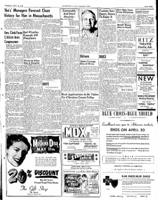 The Courier News from Blytheville, Arkansas on April 29, 1952 · Page 4