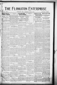 Sample The Flomaton Enterprise front page