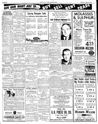 The Courier News from Blytheville, Arkansas on April 29, 1952 · Page 7