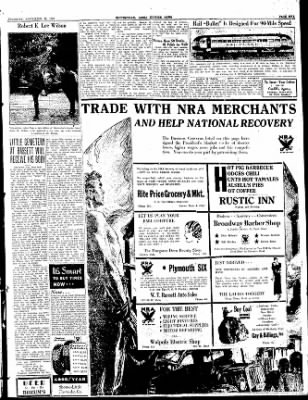 The Courier News from Blytheville, Arkansas on September 28, 1933 · Page 5