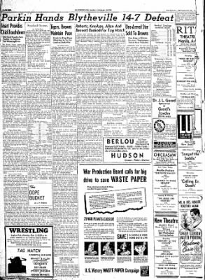 The Courier News from Blytheville, Arkansas on September 30, 1944 · Page 6